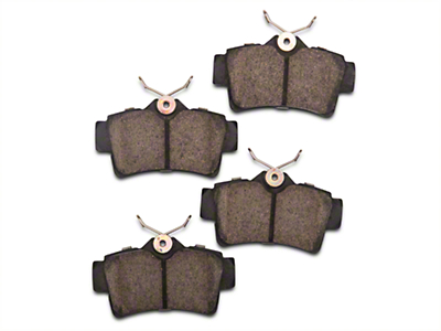 Power Stop Z23 Evolution Sport Ceramic Brake Pads - Rear Pair (94-04 Cobra, Bullitt, Mach 1)