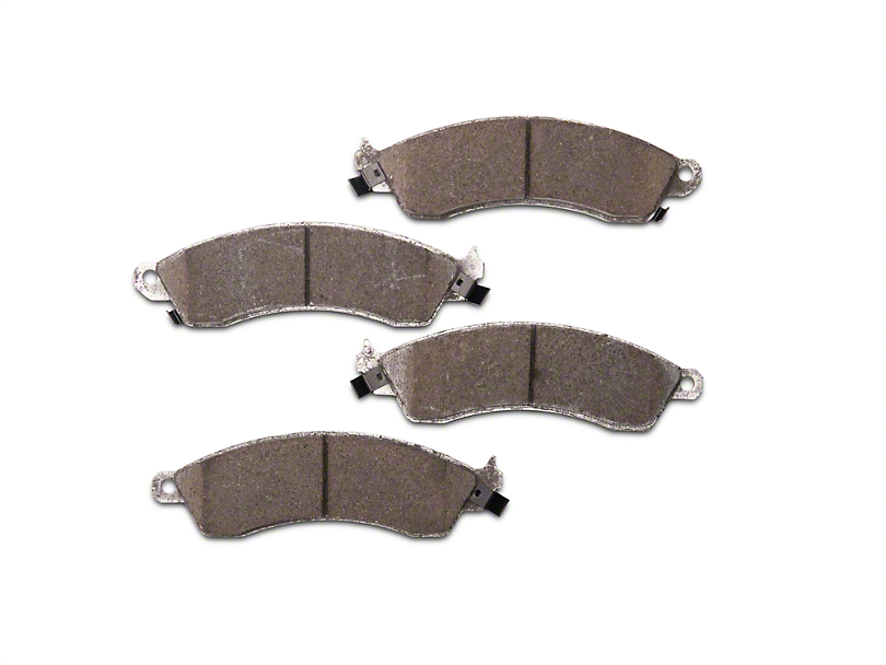 Power Stop Z26 Extreme Performance Ceramic Brake Pads - Front Pair (94-04 Cobra, Bullitt, Mach 1)