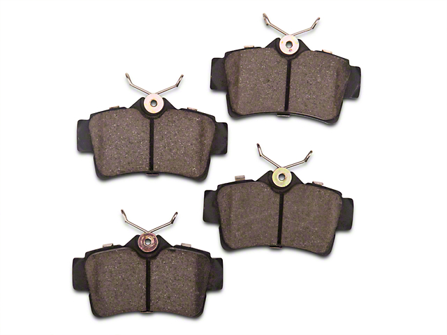 Power Stop Z26 Extreme Performance Ceramic Brake Pads; Rear Pair (94-04 GT, V6)