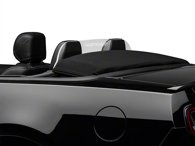 SpeedForm Laser Engraved Wind Deflector - Mustang GT Lettering (11-14 Convertible)