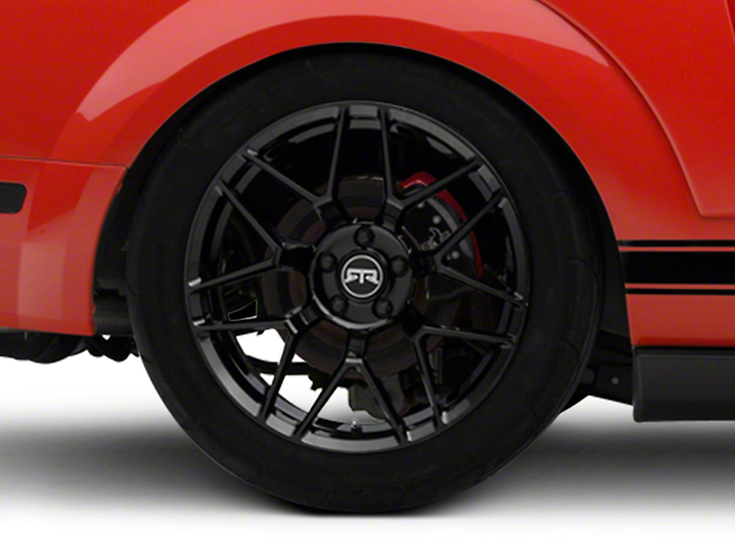 RTR Tech 7 Black Wheel - 19x10.5 - Rear Only (05-14 All)