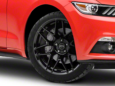 RTR Tech 7 Black Wheel - 20x9.5 (15-18 All)
