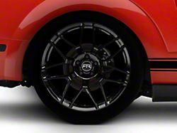 RTR Tech 7 Black Wheel - 20x10.5 - Rear Only (05-14 All)