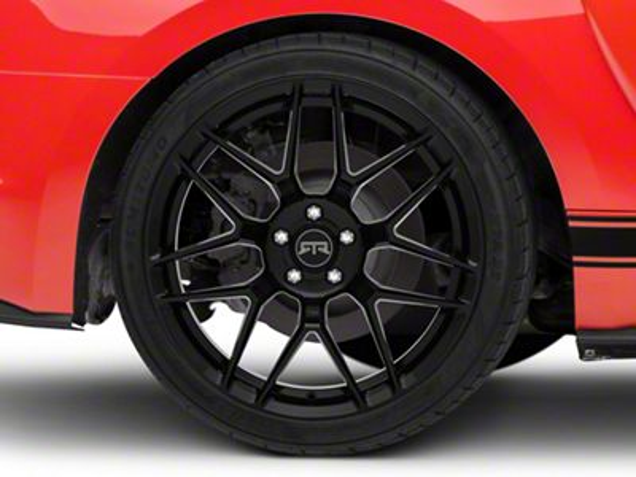 Add RTR Tech 7 Black Wheel - 20x10.5
