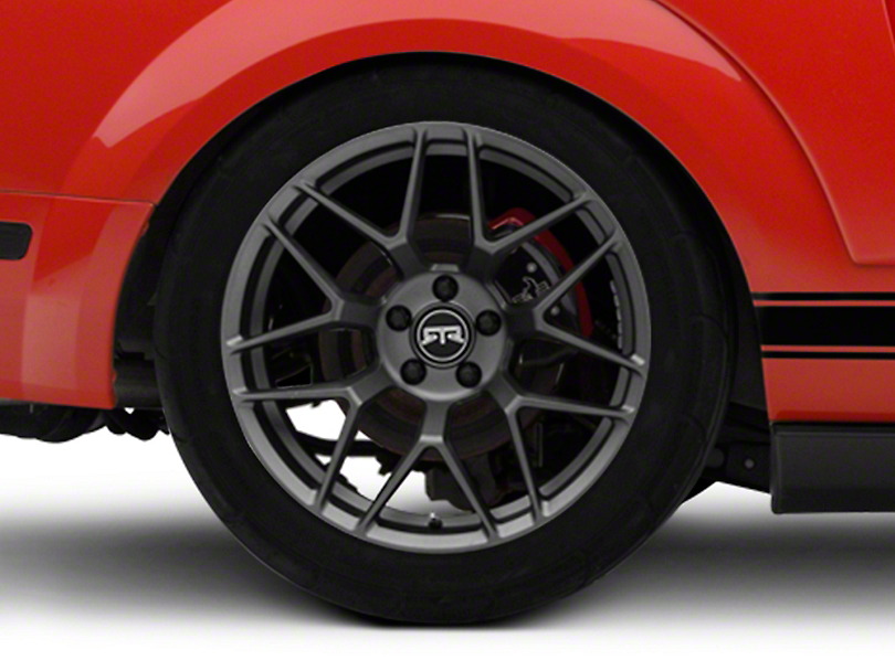 RTR Tech 7 Satin Charcoal Wheel - 19x10.5 - Rear Only (05-14 All)