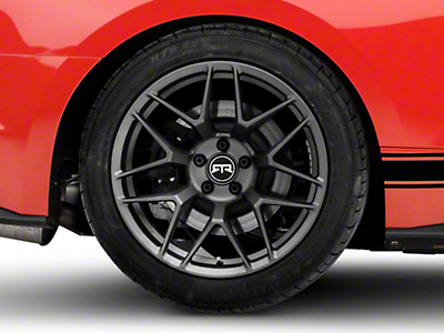 RTR Tech 7 Charcoal Wheel - 19x10.5 (15-19 GT, EcoBoost, V6)