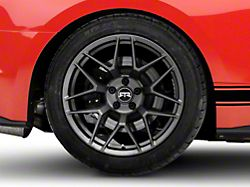 RTR Tech 7 Satin Charcoal Wheel; Rear Only; 19x10.5 (15-20 GT, EcoBoost, V6)