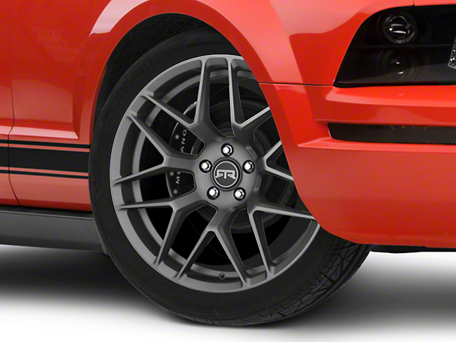 RTR Tech 7 Charcoal Wheel - 20x9.5 (05-14 All)