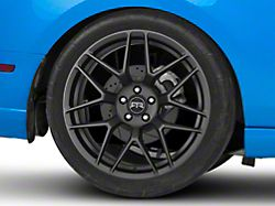 RTR Tech 7 Satin Charcoal Wheel; Rear Only; 20x10.5 (10-14 All)