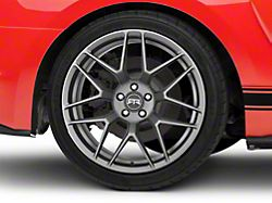 RTR Tech 7 Satin Charcoal Wheel; Rear Only; 20x10.5 (15-20 GT, EcoBoost, V6)