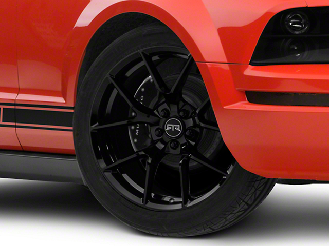 RTR Tech 5 Black Wheel - 19x9.5 (05-14 All)