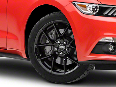 RTR Tech 5 Black Wheel - 19x9.5 (15-18 GT, EcoBoost, V6)