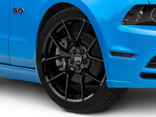 RTR Tech 5 Gloss Black Wheel; 20x9.5 (10-14 All)
