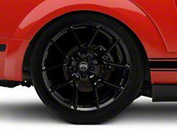 RTR Tech 5 Black Wheel - 20x10.5 - Rear Only (05-14 All)