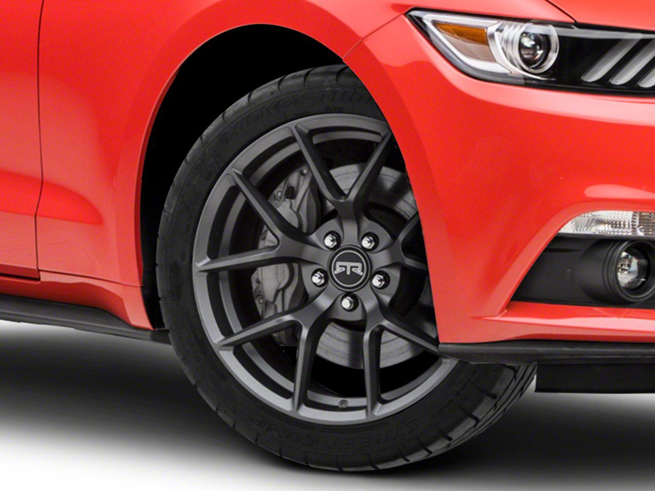RTR Tech 5 Satin Charcoal Wheel - 19x9.5 (15-19 GT, EcoBoost, V6)