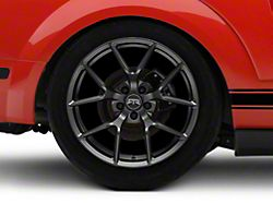 RTR Tech 5 Satin Charcoal Wheel - 19x10.5 - Rear Only (05-14 All)