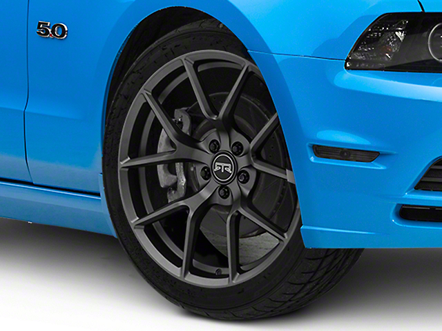 RTR Tech 5 Satin Charcoal Wheel; 20x9.5 (10-14 All)