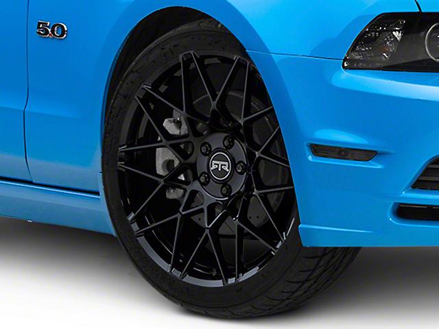 RTR Tech Mesh Gloss Black Wheel; 20x9.5 (10-14 Standard GT, V6)