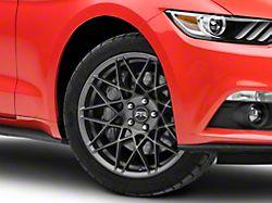 RTR Tech Mesh Satin Charcoal Wheel; 19x9.5 (15-20 GT, EcoBoost, V6)