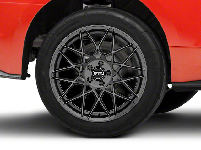 RTR Tech Mesh Satin Charcoal Wheel - 19x10.5 (15-19 All)
