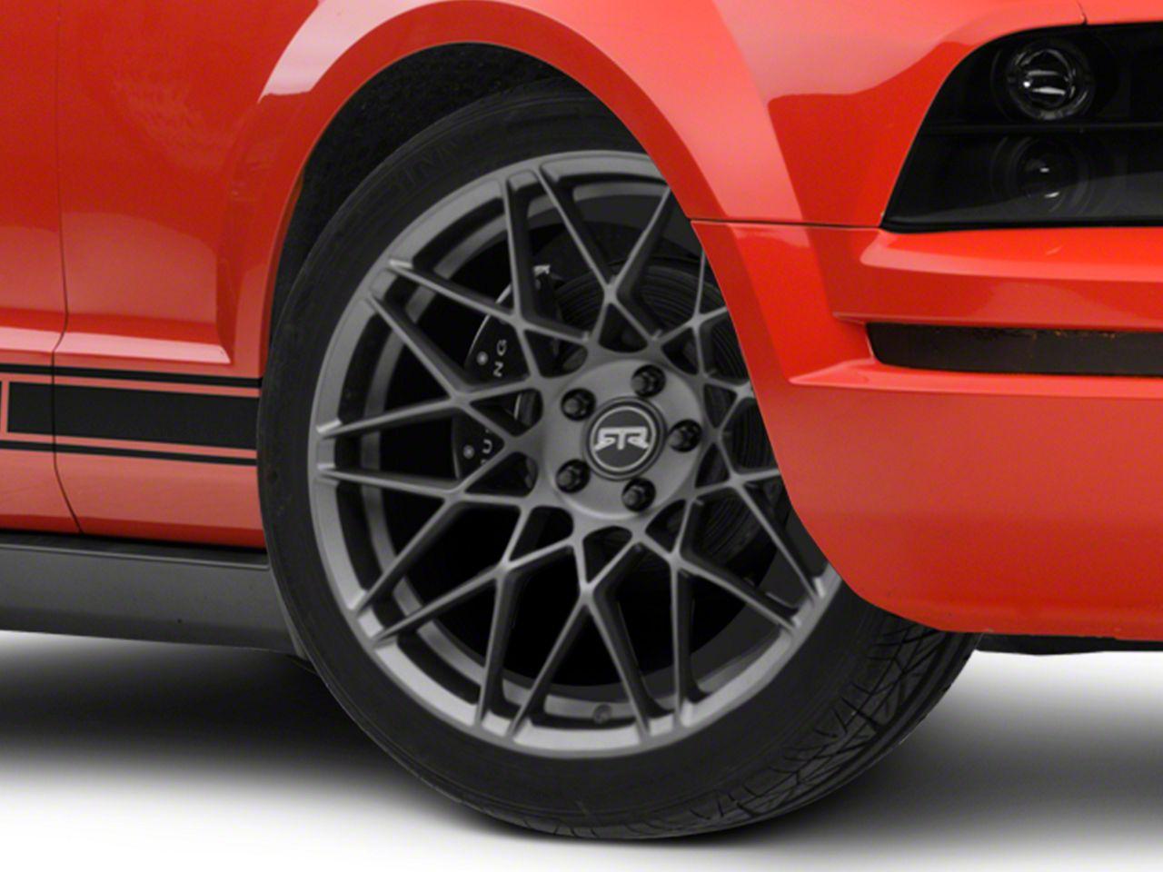 RTR Tech Mesh Satin Charcoal Wheel - 20x9.5 (05-14 All)