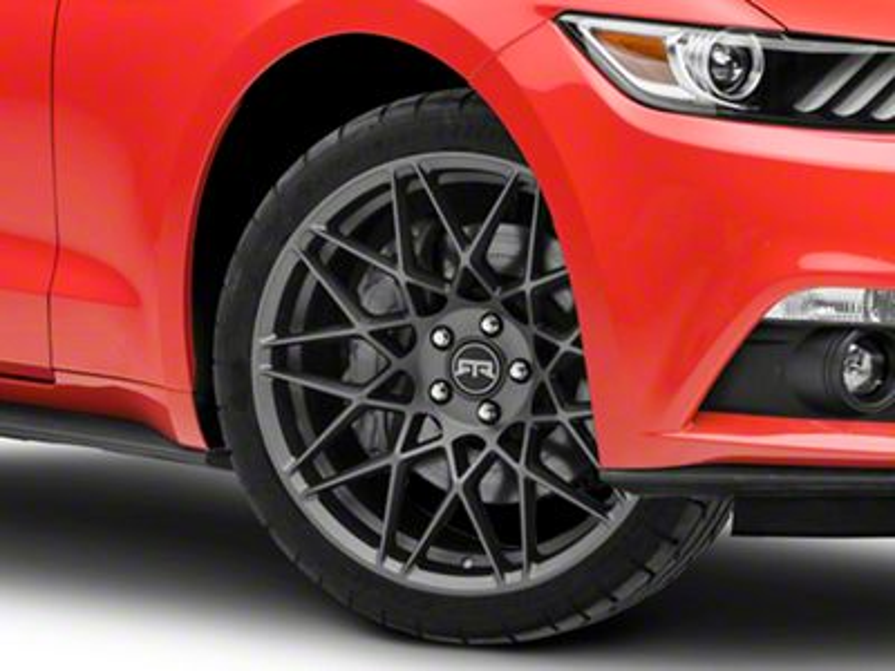 RTR Tech Mesh Satin Charcoal Wheel - 20x9.5 (15-19 All)