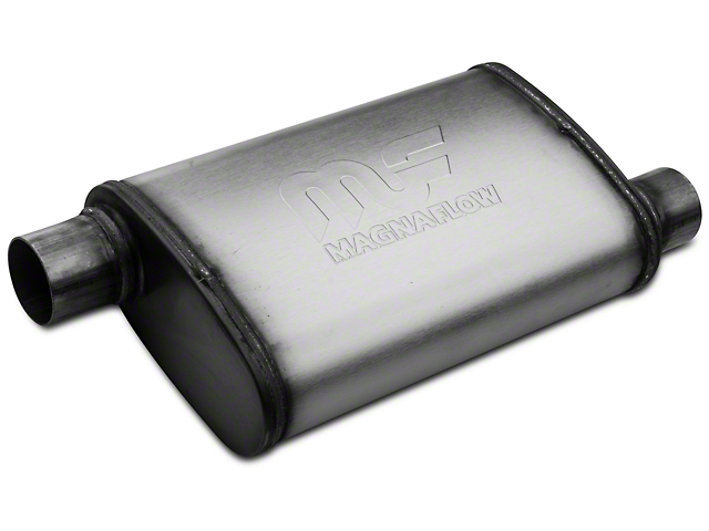 Magnaflow Performance Series Offset/Offset Oval Satin Muffler - 2.25 in. (79-04 All, Excluding 99-04 Cobra)