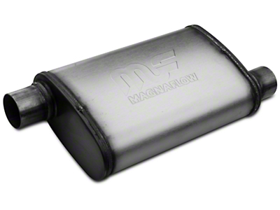 Magnaflow Performance Series Offset/Offset Oval Satin Muffler - 2.25 in. (Universal Fitment)