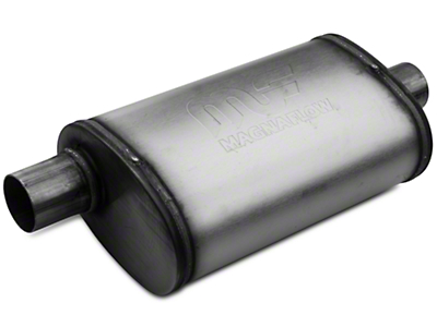 Magnaflow Performance Series Center/Offset Oval Satin Muffler - 2.25 in. (79-04 All, Excluding 99-04 Cobra)