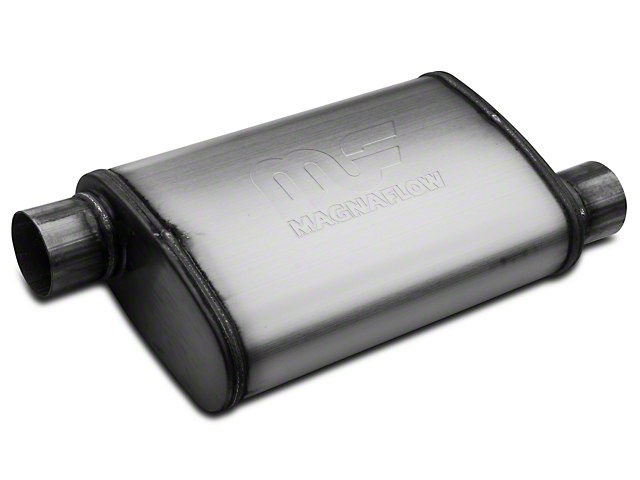 Magnaflow Performance Series Offset/Offset Oval Satin Muffler - 2.5 in. (79-04 All, Excluding 99-04 Cobra)