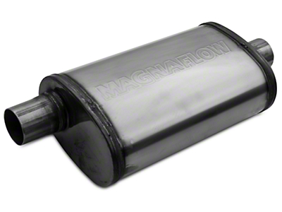 Magnaflow Performance Series Center/Offset Oval Polished Muffler - 2.25 in. (79-04 All, Excluding 99-04 Cobra)