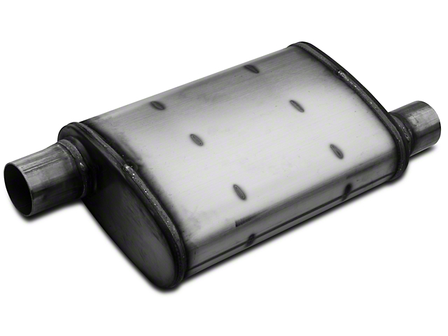 Magnaflow XL Performance Series Offset/Offset Oval Satin Muffler - 2.25 in. (Universal Fitment)