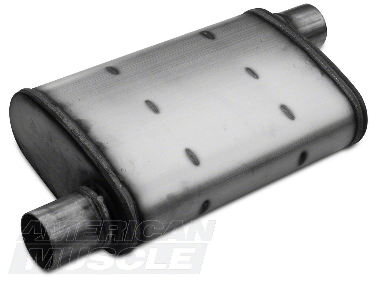 "Center One colt universal Stainless steel performance muffler 2.25/"" Offset"