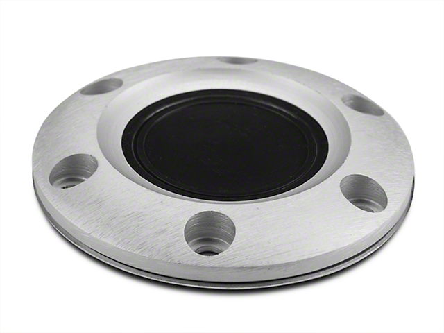 Horn Ring with Button; Brushed (84-04 All)