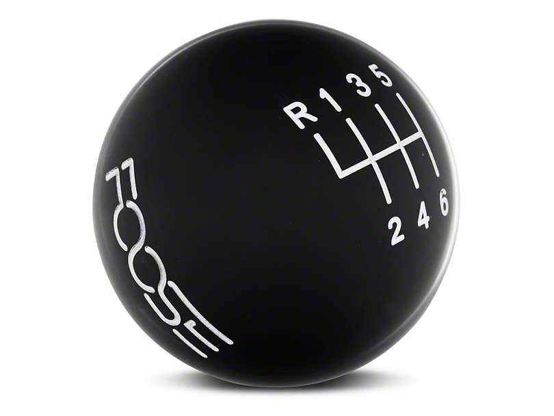 MMD by FOOSE Retro Style 6-Speed Shift Knob w/ FOOSE logo - Black (11-14 GT, V6)