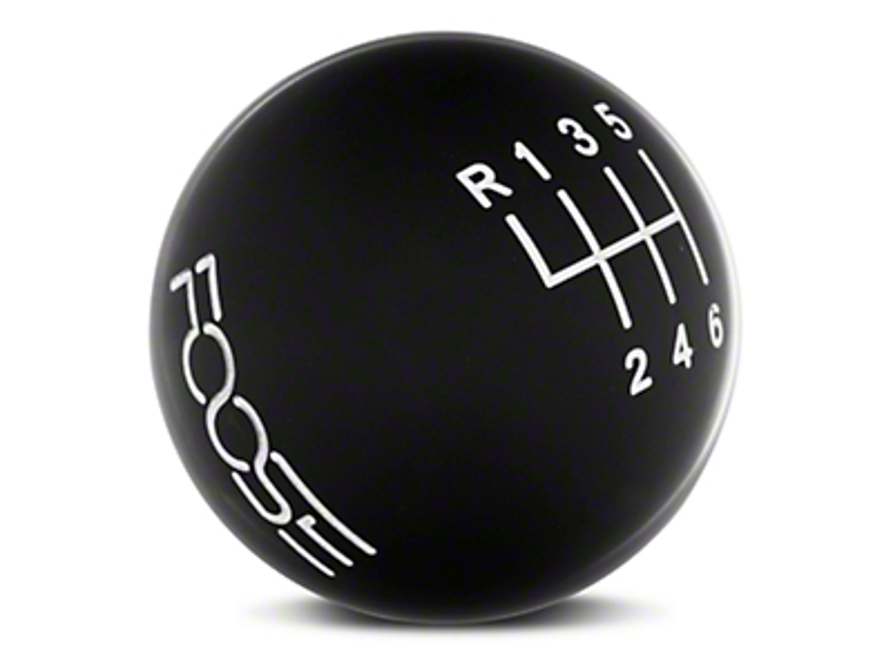 MMD by FOOSE Retro Style 6-Speed Shift Knob w/ FOOSE logo - Black (11-14 GT, V6)