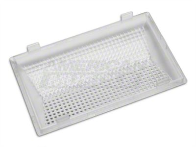 FORD CARS 1979-1991 DOME LIGHT LENS RECTANGLE