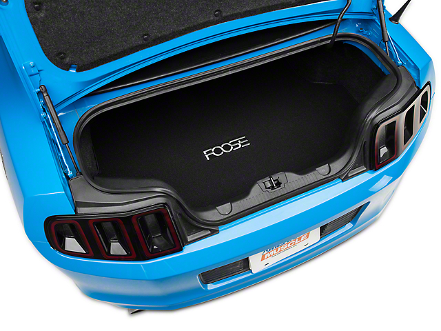 Trunk Mat w/ FOOSE Logo - Black (13-14 All)