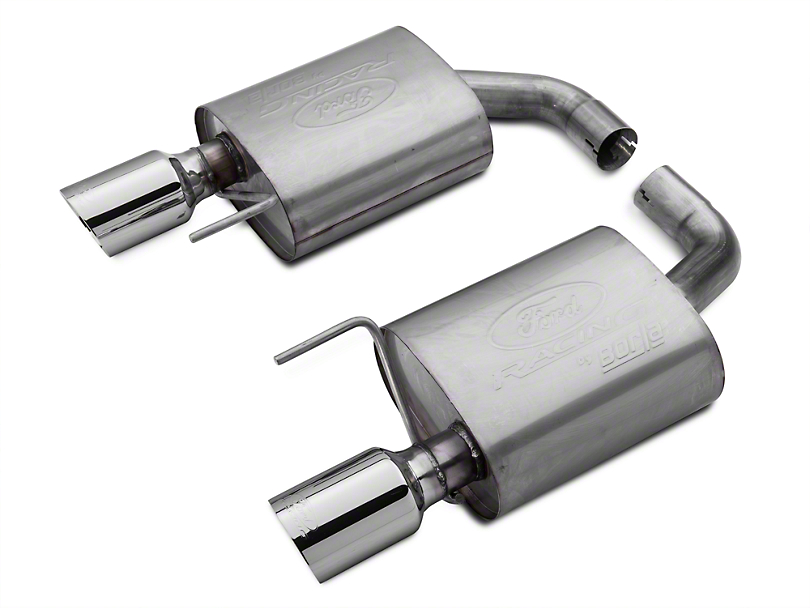 Ford Performance by Borla Sport Axle-Back Exhaust w/ Chrome Tips (15-19 EcoBoost w/o Active Exhaust)