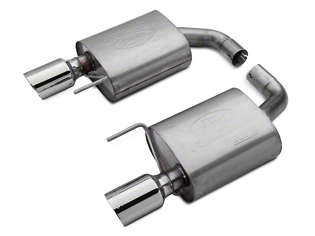 Ford Performance by Borla Sport Axle-Back Exhaust - Chrome Tips (15-18 EcoBoost)