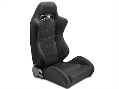 SpeedForm Black Racing Seats - Pair (79-14 All)