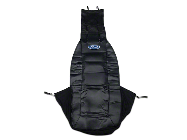 Alterum Sideless Seat Cover w/ Head Rest - Ford Oval Logo (79-17 All)