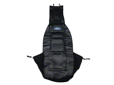 Alterum Sideless Seat Cover w/ Head Rest - Ford Oval Logo (79-18 All)