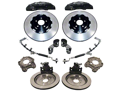Ford Performance 15 in. 6-Piston Brake Upgrade Kit w/ 2 Piece Rotors (05-14 GT, Bullitt, BOSS 302, GT500)