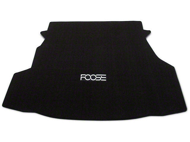 Trunk Mat w/ FOOSE Logo - Black (10-12 All)