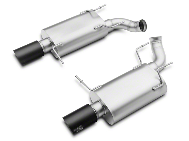 LTH Axle-Back Exhaust - Black Tip (11-14 GT)