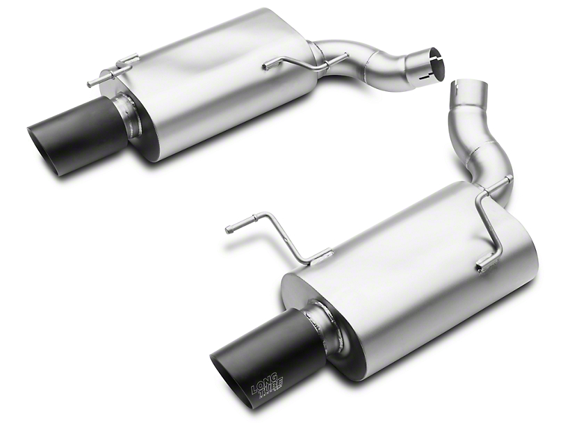 LTH Axle-Back Exhaust w/ Black Tips (05-10 GT)