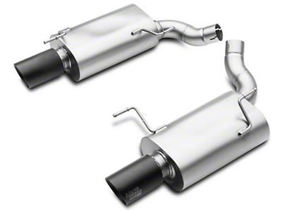 LTH Axle-Back Exhaust - Black Tip (05-10 GT)