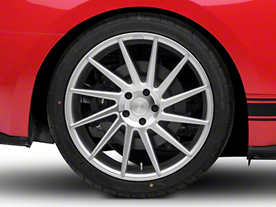 Niche Surge Silver Machined Directional Wheel - Passenger Side - 20x10 (15-18 All)