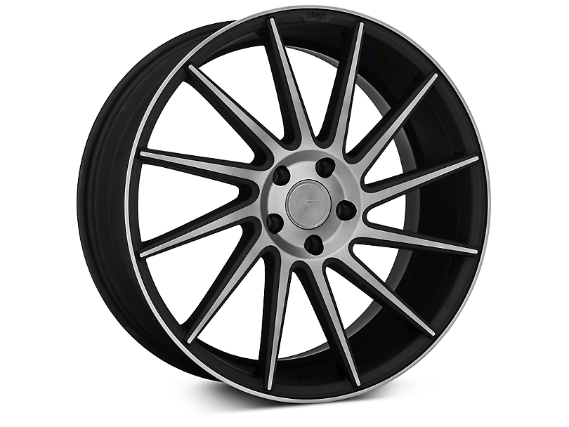 Niche Surge Double Dark Directional Wheel - Passenger Side - 20x8.5 (05-14 All)